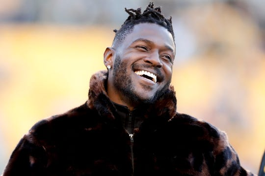 Steelers wide receiver Antonio Brown
