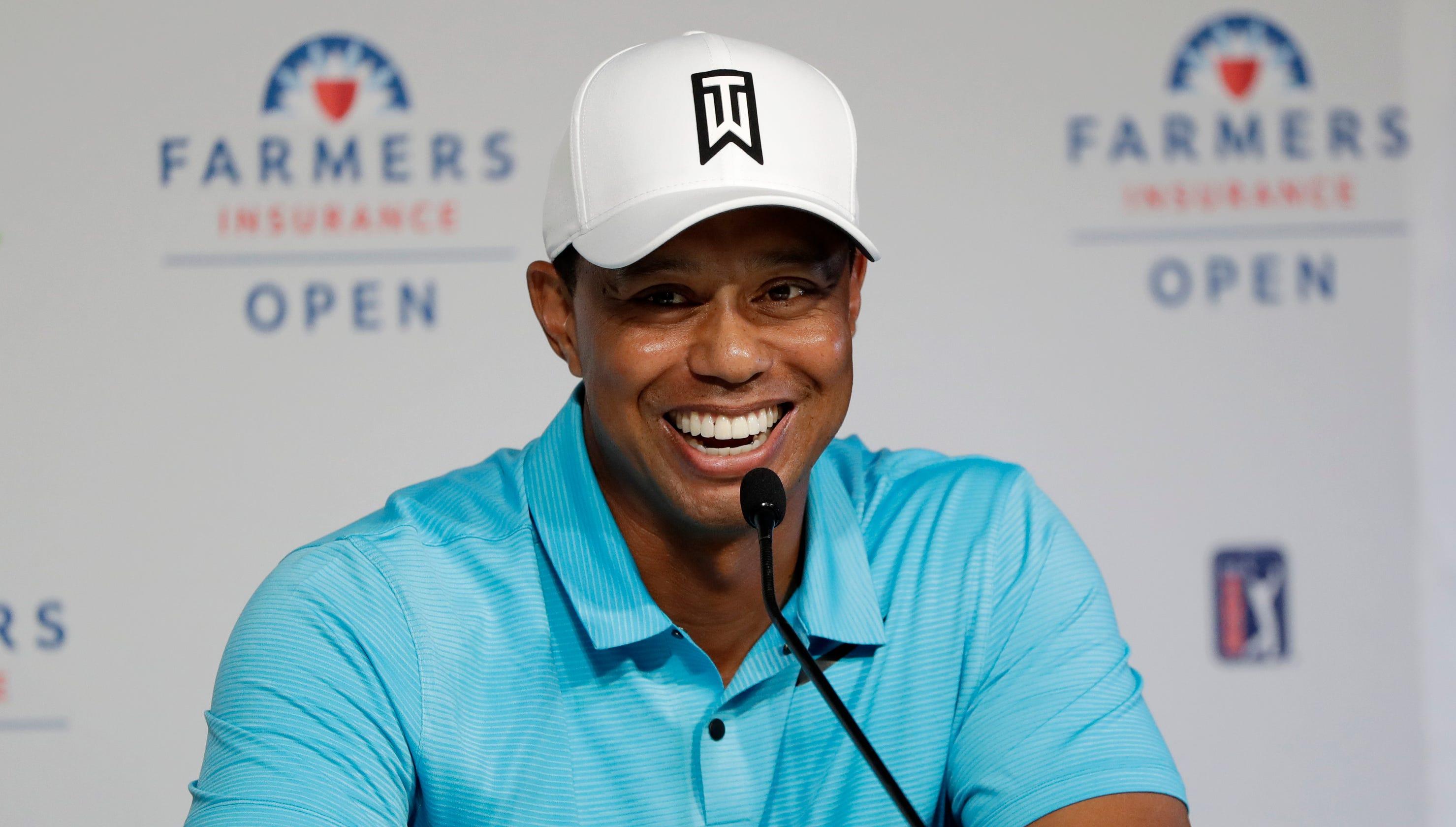 39b187cfc3acf Wednesday s golf  Woods to make 2019 debut at Torrey Pines