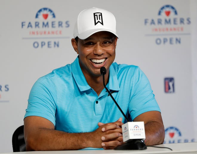 Tiger Woods is starting another year at Torrey Pines, this time with higher expectations.