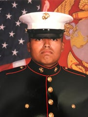 Jilmar Ramos-Gomez, an American-born citizen and decorated marine who fought in Afghanistan.