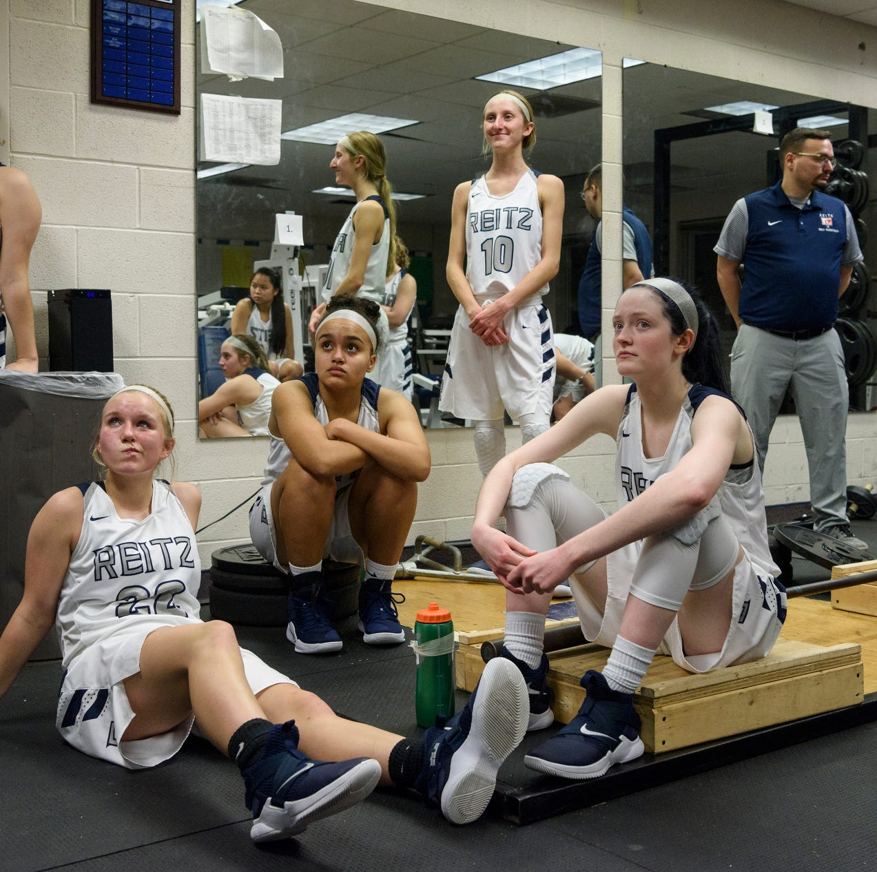 Reitz girls' basketball's agonizing climb from winless to respectable