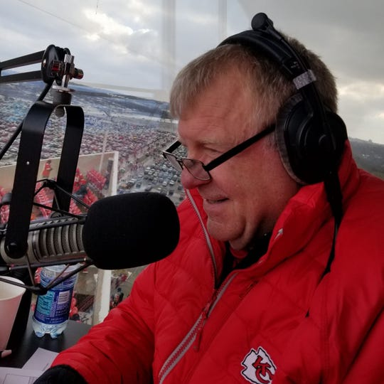 Evansville native Dale Carter has been the voice of the Kansas City Chiefs' Arrowhead Stadium for 10 years.