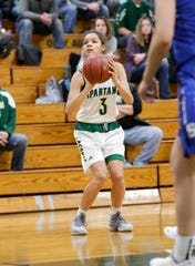Laconia coach Chris Morgan said senior Kiarra Otto, who leads the team is scoring, is a Division I-caliber athlete.
