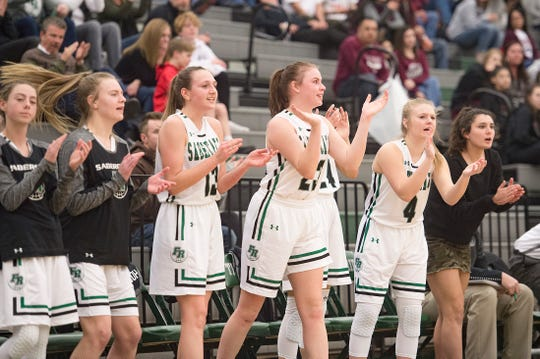 The Fossil Ridge girls basketball team is the No. 5 seed in the 5A state tournament as the SaberCats hunt a return trip to the Final Four.
