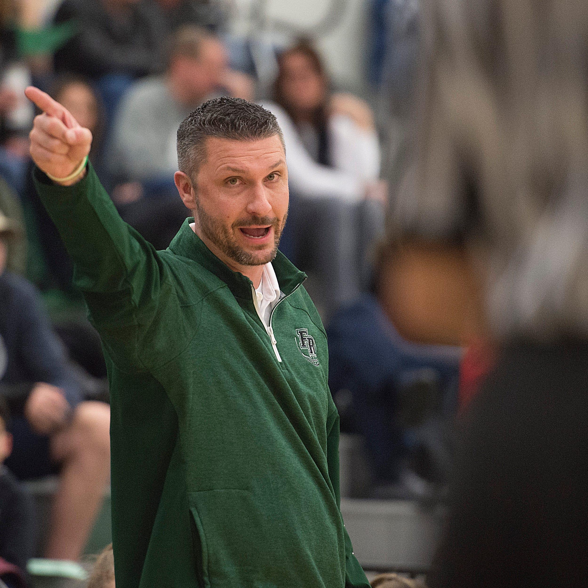Fossil Ridge basketball coach Chad Salz steps down to take boys basketball job at Severance
