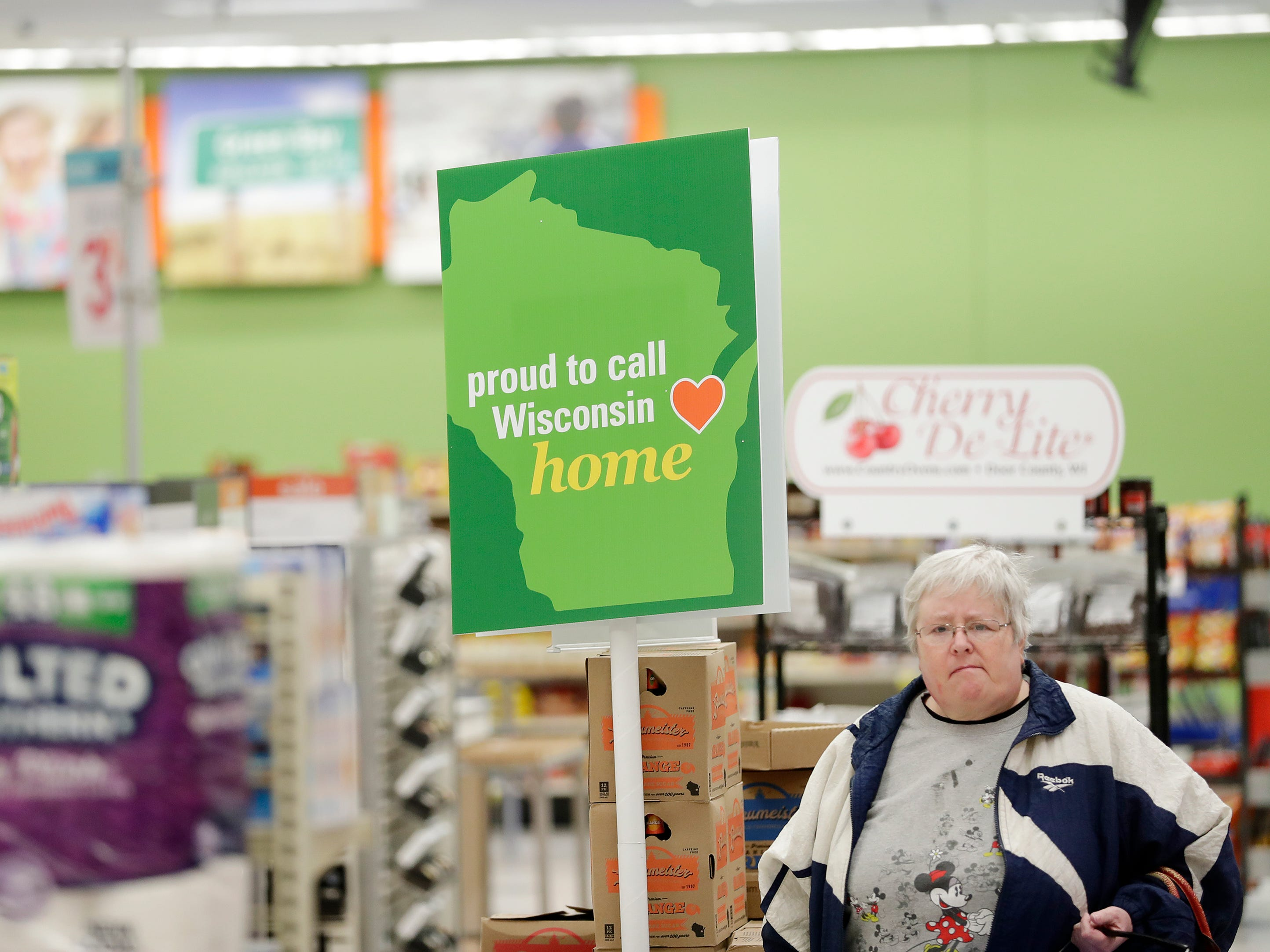 Vicki Villers shops at the original Shopko store on Wednesday, January 16, 2019 in Green Bay, Wis. Shopko filed for chapter 11 bankruptcy on Wednesday and announced it will close 105 stores, including the company's original store on Military Ave in Green Bay.