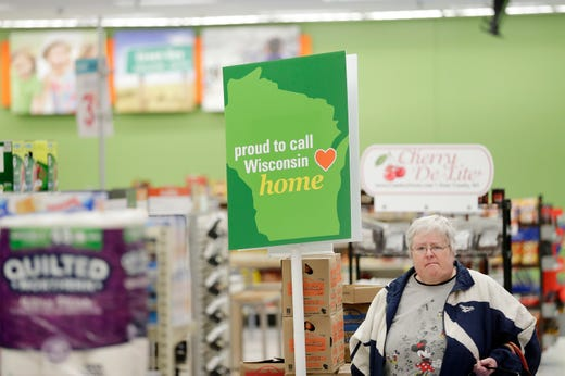 74d9b9dadbfb Vicki Villers shops at the original Shopko store on Wednesday