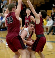 Green Bay Southwest's Will Pytleski averaged 21.2 points and 11.5 rebounds as a senior this season.