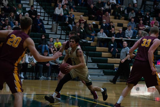 Former Box Elder High superstar Brandon The Boy is making the most of a second chance to play college basketball at Rocky Mountain College, where he is the starting point guard.