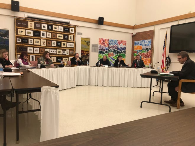 Final candidates interviewed with the Board of Trustees and community members Tuesday, Jan.15