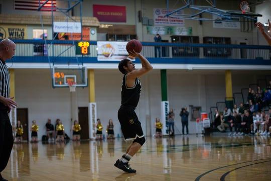 Brandon The Boy is having a superb sophomore season at Rocky Mountain College.