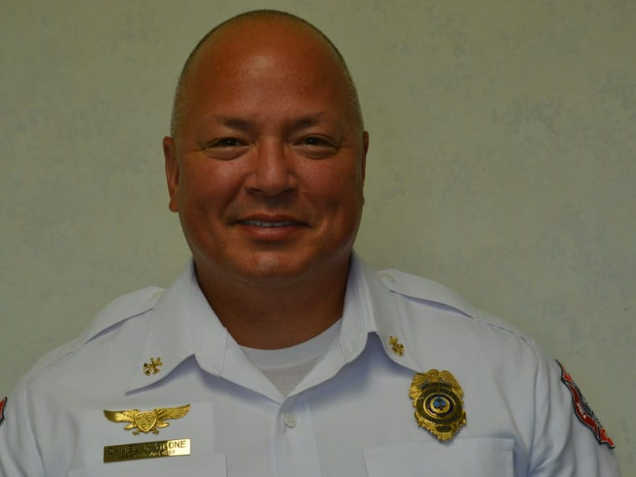 Daniel C. Stone, chief of Guam Fire Department