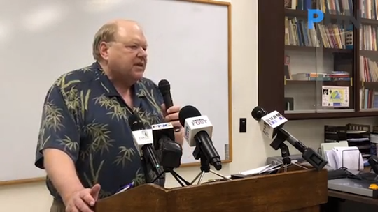 Attorney Ford Elsaesser explains the three aspects by which the Archdiocese of Agana hopes to resolve clergy sex abuse case filed against the Catholic church.