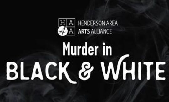 """Murder in Black & White"" will be held Saturday, Jan. 19, at the Holy Name School cafeteria."