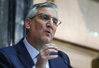 Gov. Eric Holcomb outlines his priorities in his 2019 State of the State address.