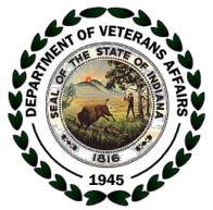 Indiana Department of Veterans' Affairs seal