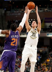 FILE -- Doug McDermott is in his second season with the Indiana Pacers.