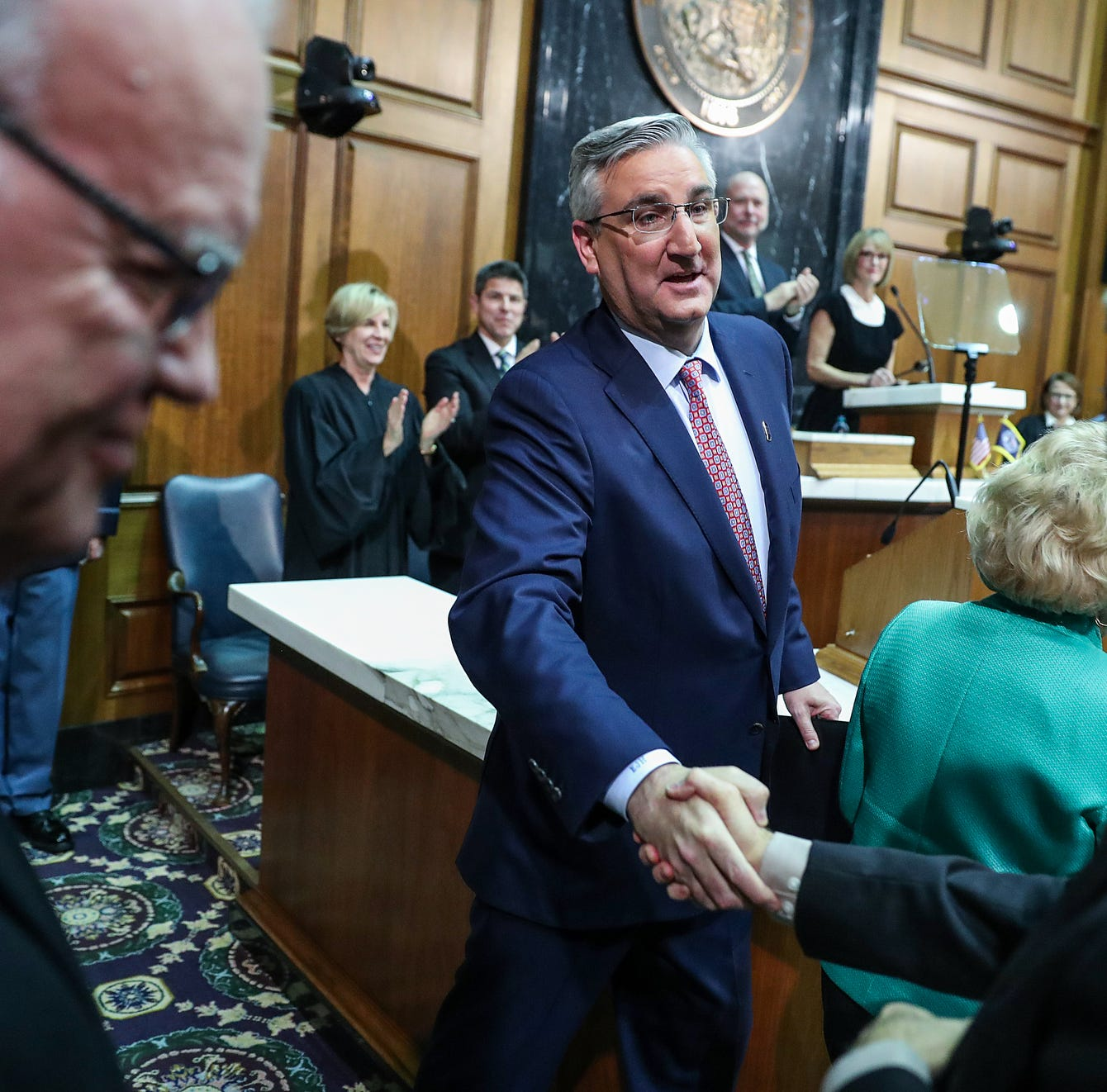 5 takeaways from Gov. Holcomb's State of the State address, 1 of which surprised us