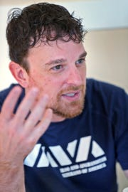 Army veteran Eric Donoho of Carmel uses the challenges of his own past to help others, especially veterans struggling to adjust to life after combat.