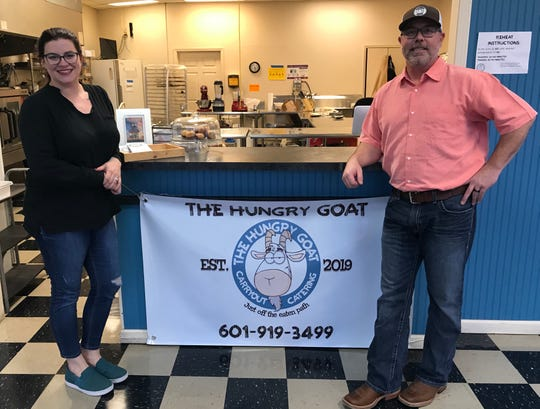 Jordan and Paul Yamas are the owners of The Hungry Goat in Flowood.