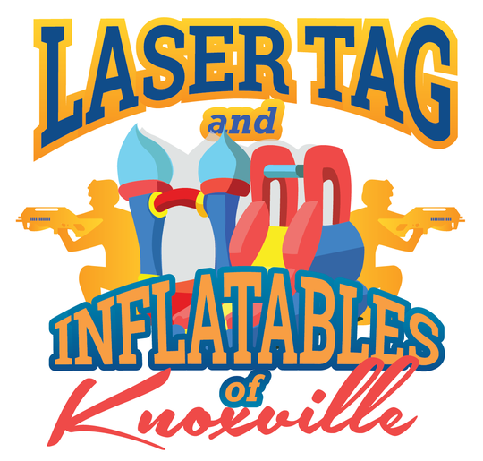 "Laser Tag and Inflatables of Knoxville ""brings the battle to you."""