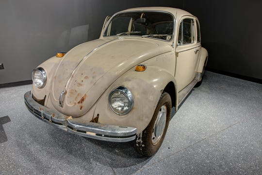 Ted Bundy's 1968 Volkswagen is on permanent display at the Alcatraz East Crime Museum.