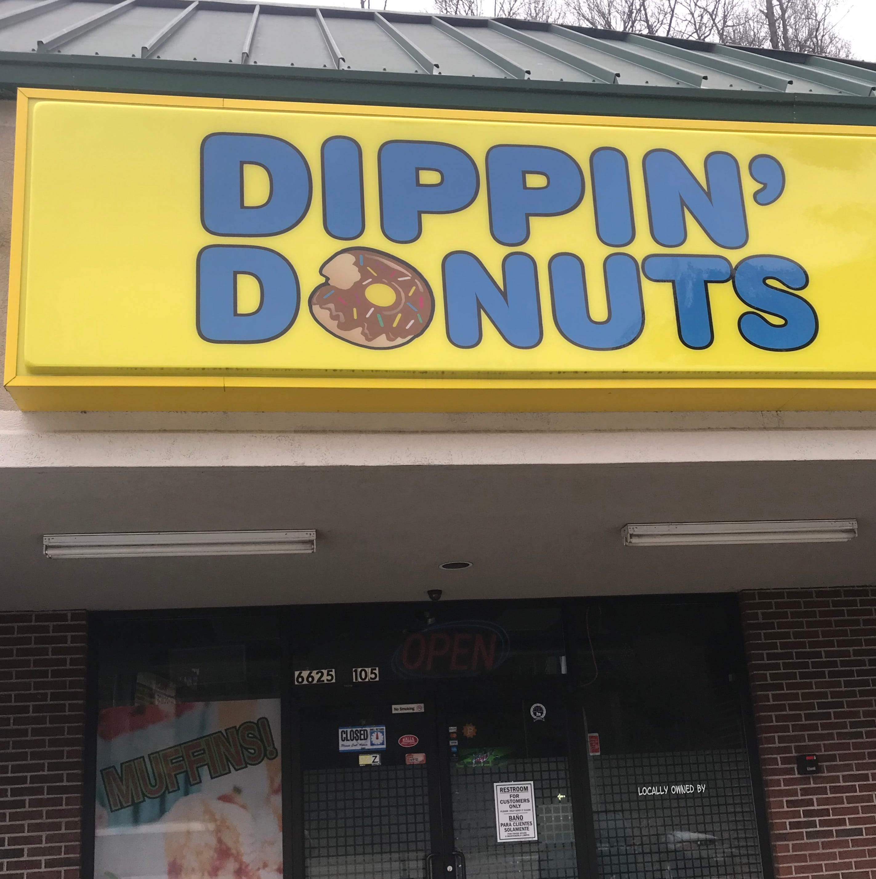 Dippin' Donuts, which moved from West Hills to Halls, 'permanently' closes