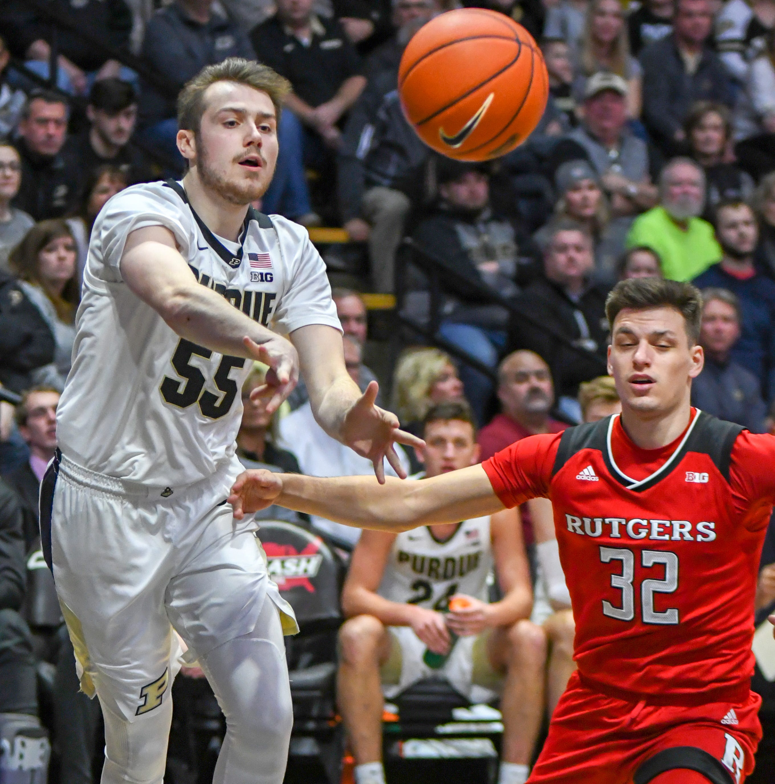 Purdue basketball's Sasha Stefanovic the latest bench player to receive confidence boost