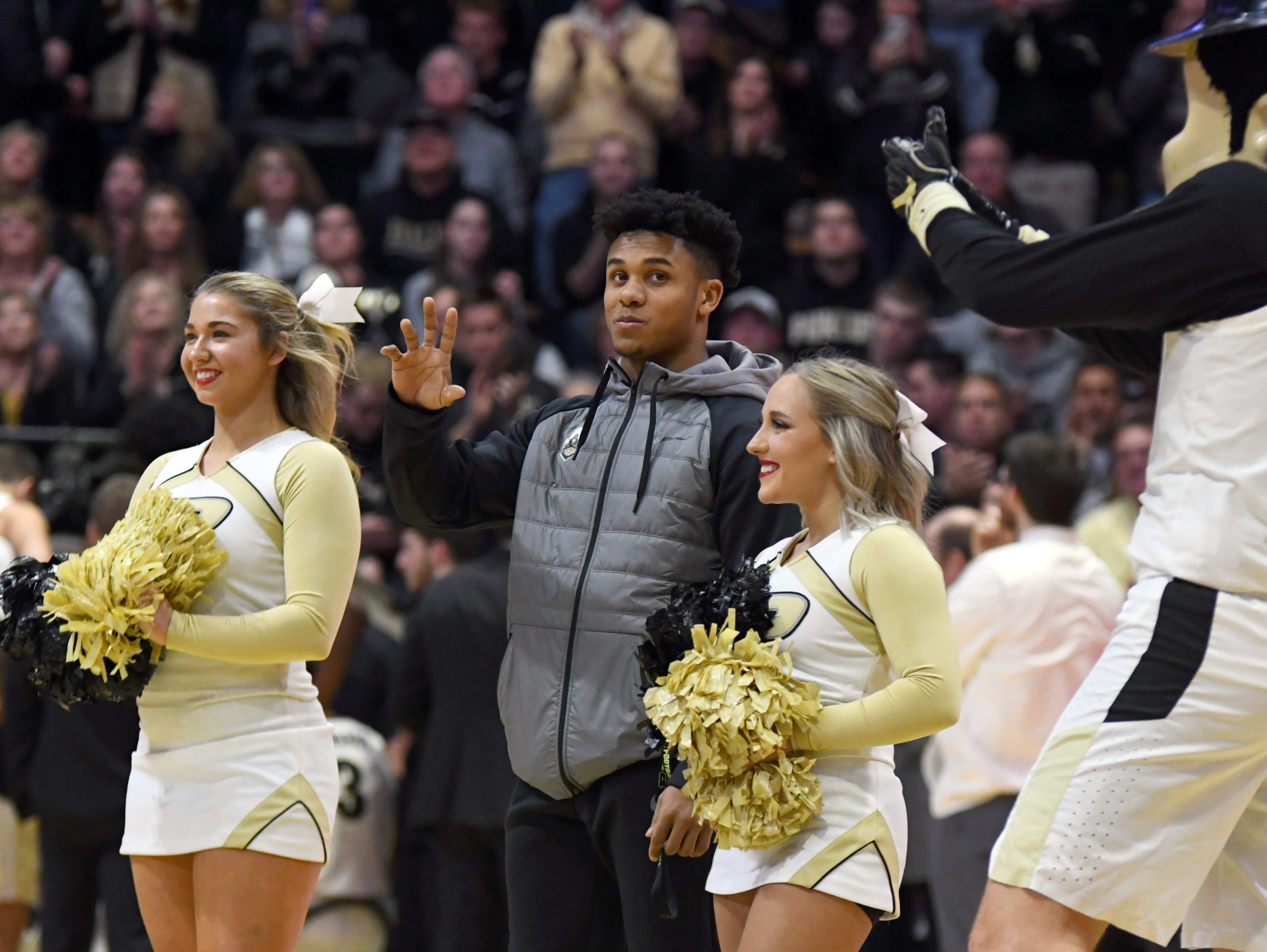 Action from Purdue's 89-54 win over Rutgers at Purdue University in West Lafayette on January 15, 2019.