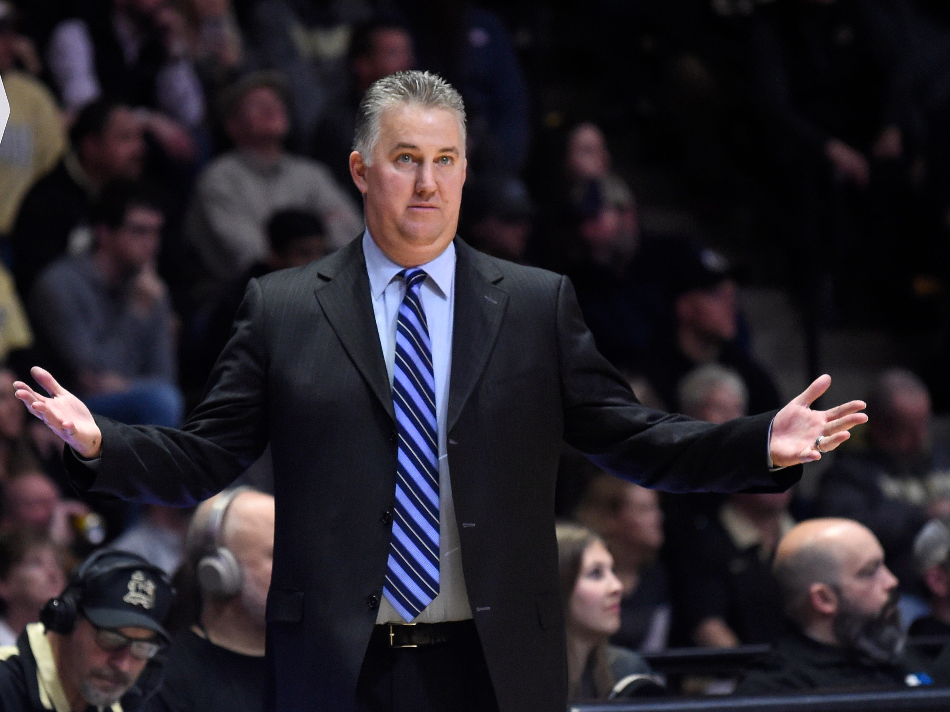 Purdue has seemingly overachieved this season under coach Matt Painter.