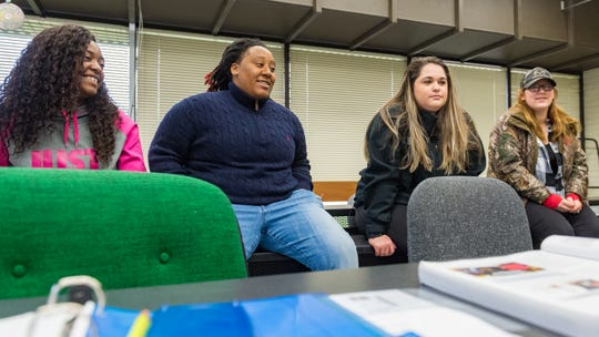 More Women are studying oil and gas in classes offered at SLCC in New Iberia. Tuesday, Jan. 15, 2019.