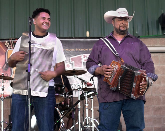 Keith Frank & The Soileau Zydeco Band perform Sunday at El Sido's in Lafayette.