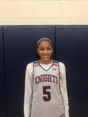 Tamera Johnson of Lafayette Christian basketball, was named Female Athlete of the Week.