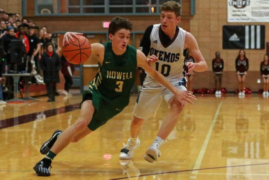 Howell routinely schedules CAAC opponents like Okemos in basketball.