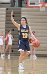 Nikki Dompierre scored 17 points for Hartland in a victory over Okemos.