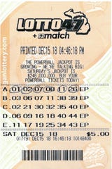 This winning $3.73 million jackpot ticket was purchased at Sunoco gas station, 763 S. Michigan Ave. in Howell.