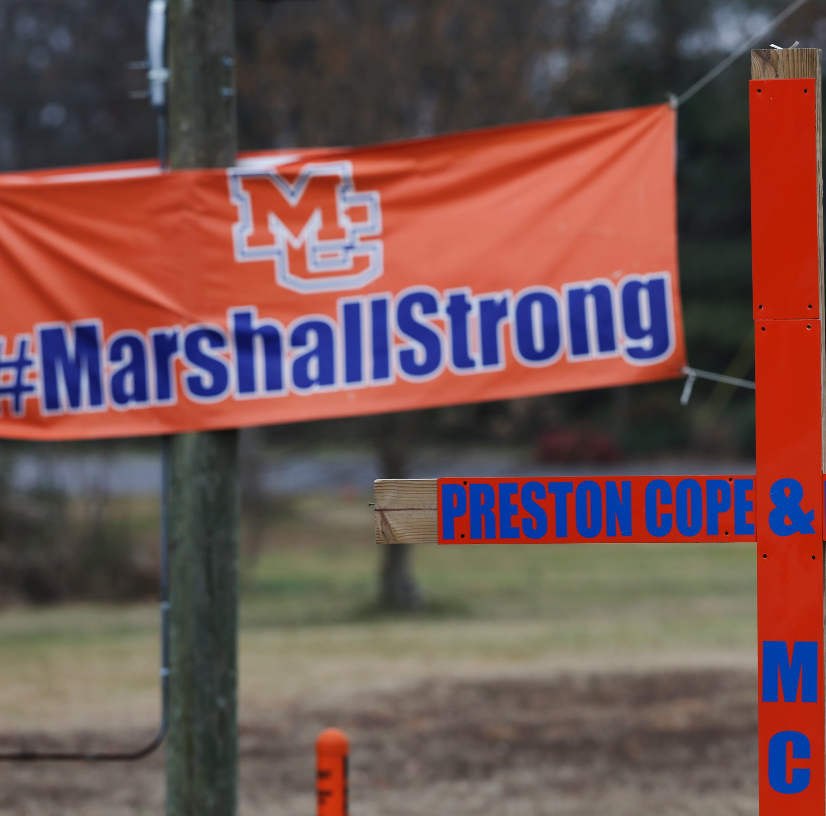 Faith is power behind 'Marshall Strong' one year after school shooting