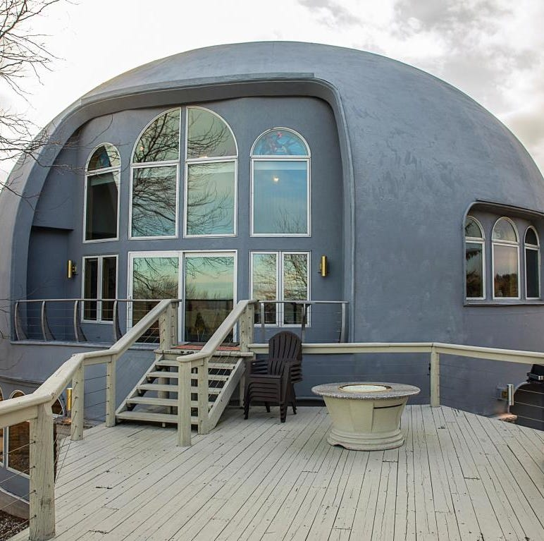 Manitowoc dome home for sale: Natural Ovens' former owners loved non-linear lifestyle