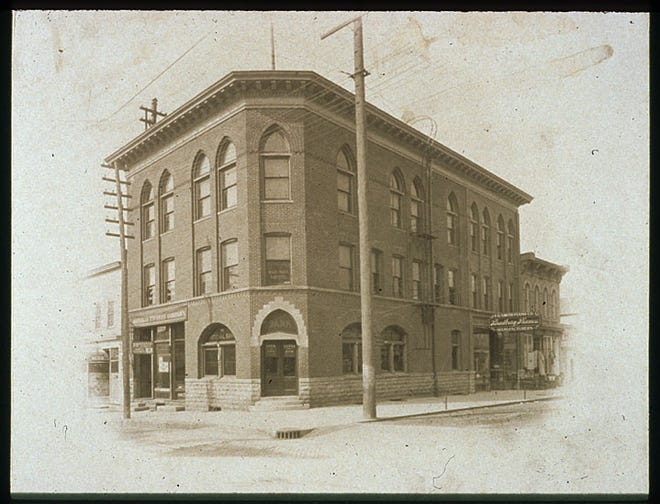 Bank First's original office in Manitowoc.