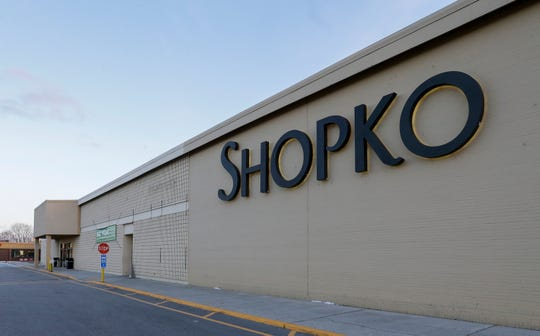 The Shopko store on Calumet Ave Wednesday, January 16, 2019, in Manitowoc, Wis. The company filed for bankruptcy Wednesday and announced it would be closing more than 100 stores, including the one in Manitowoc. Joshua Clark/USA TODAY NETWORK-Wisconsin