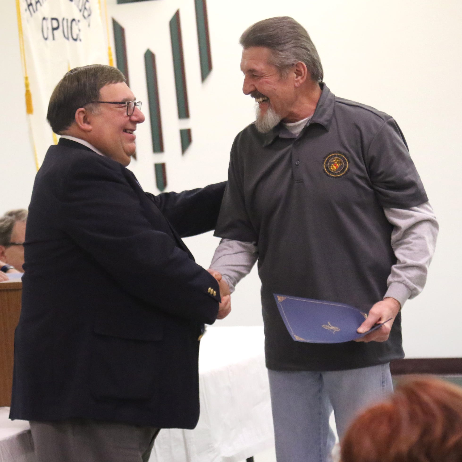 15 people recognized for completing Mansfield Municipal Veterans Court