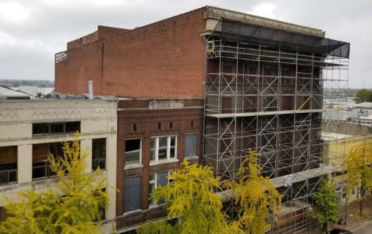 Local developer Billy Orgel received a grant worth $650,406 to begin redevelopment of two historic buildings Downtown.