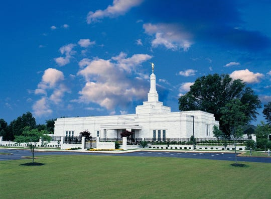 The Memphis Temple of The Church of Jesus Christ of Latter-day Saints has been renovated and will reopen in May.