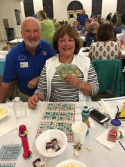 On Thursday, Jan. 10, the Knights of Columbus San Marco Council #6344 hosted a Bingo fundraiser in the San Marco Parish Center. The big jackpot winner was Phyllis Mesko of Ohio.