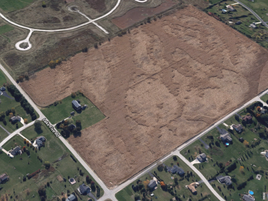 The Haass farmland will be converted into a subdivision with more than 40 houses by Milwaukee-area developer Kaerek Homes.