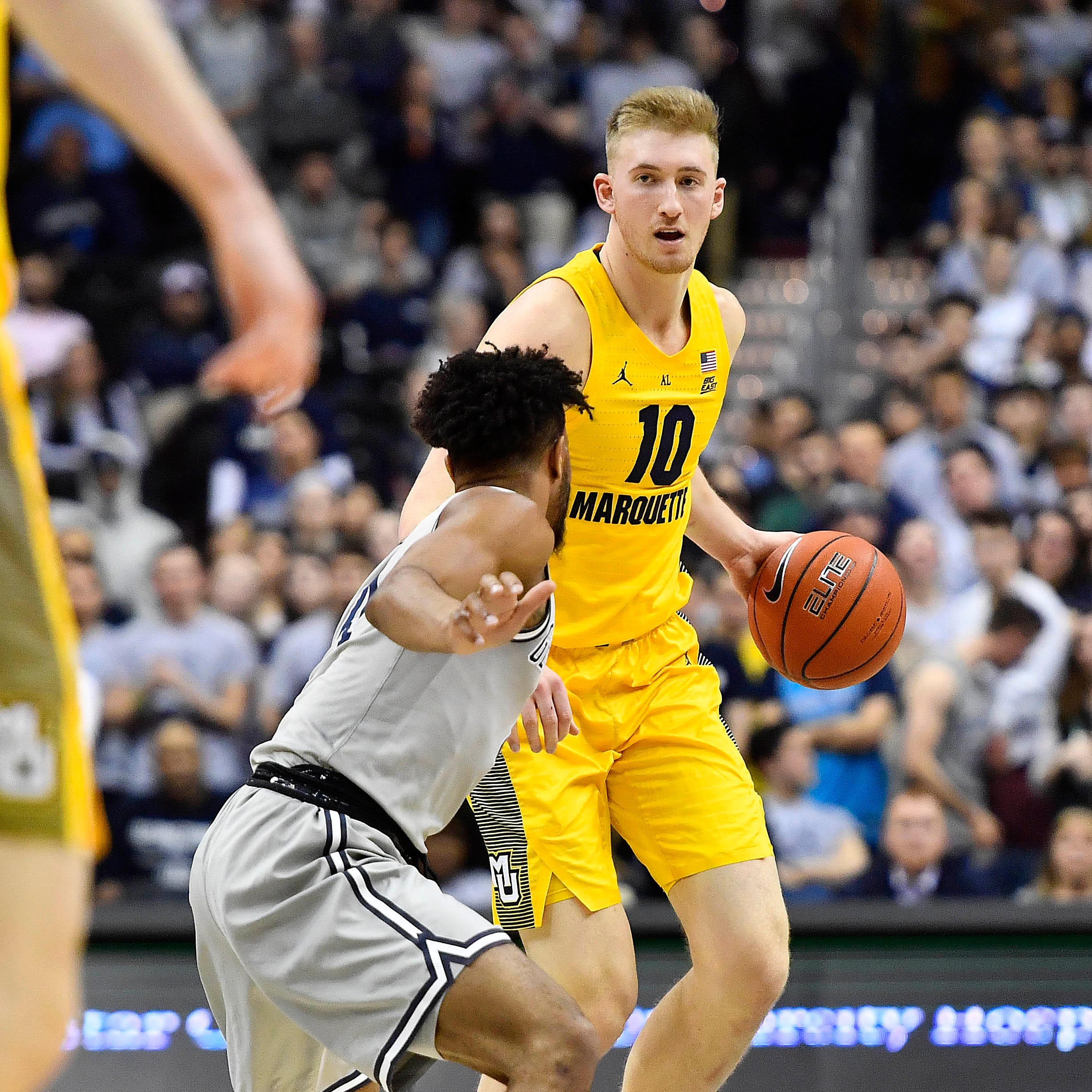 Marquette 74, Georgetown 71: Howard leaves early but Golden Eagles still win