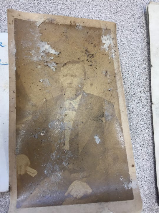 This photograph of Joseph Hadfield, the namesake of Hadfield Elementary School in Waukesha, was one of the items school staff members and students found when they opened a time capsule from 1951.