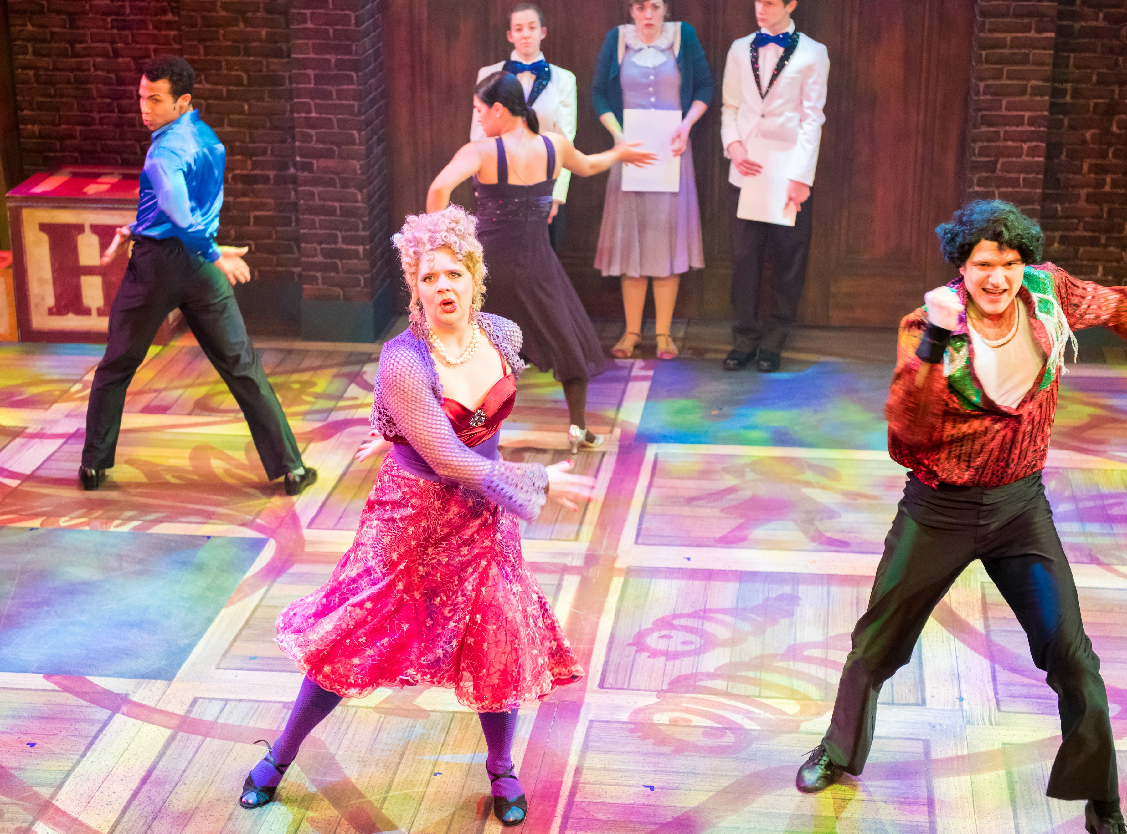 """Molly Rhode and Teddy Warren cut loose in First Stage's """"Matilda."""""""