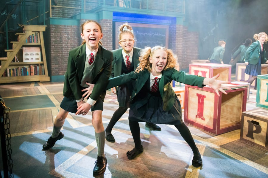 """The Diligent cast rocks out in First Stage's """"Matilda."""""""