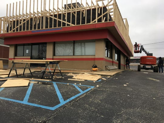 Crews are renovating the closed Hardee's location in Prattville, making way for an American Deli to open.